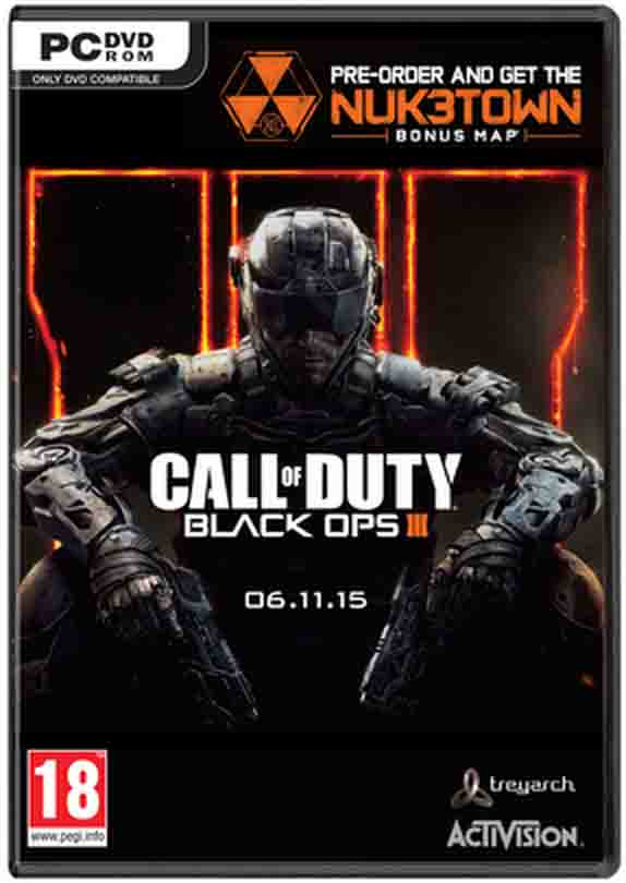 خریدبازیCall of Duty Black Ops III(ندای وظیفه بلک اوپس 3)