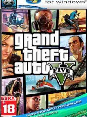 خرید بازی gta v جی تی ای وی