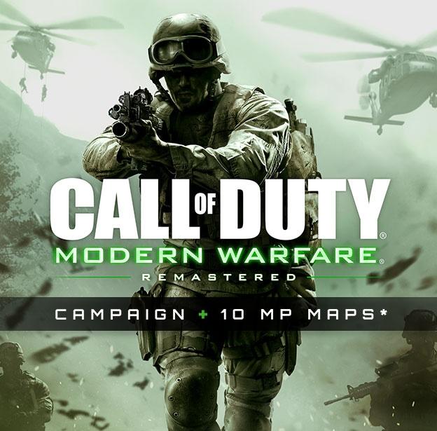 بازیCall of Duty Modern Warfare Remastered