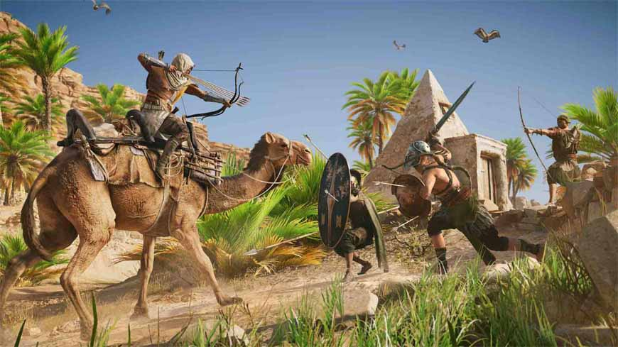 بازی Assassins Creed Origins کرک شد