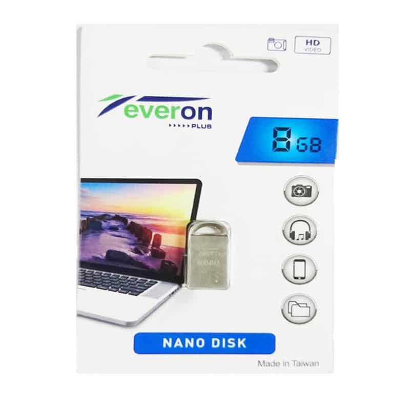 فلش مموری اورون ظرفیت Everon plus B12 - nano disk - 8GB