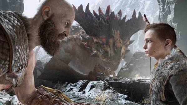 بازی God of War گاد اف وار4 - پلی استیشن 4