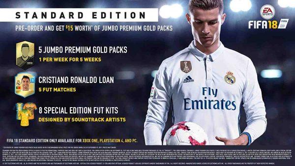 بازی FIFA 18 برای پلی استیشن 4