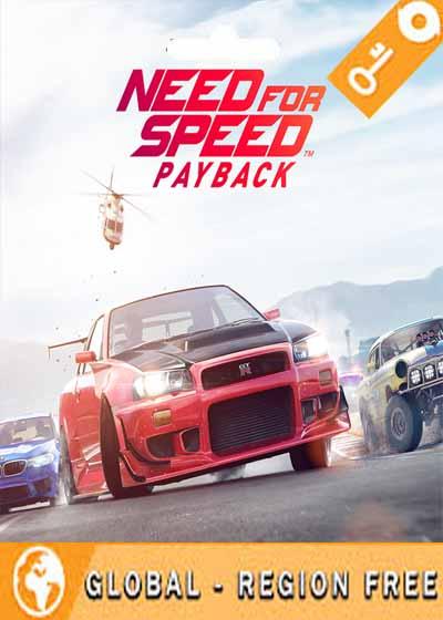 خرید اکانت آنلاین بازی نید فور اسپید پی بک need for speed payback account