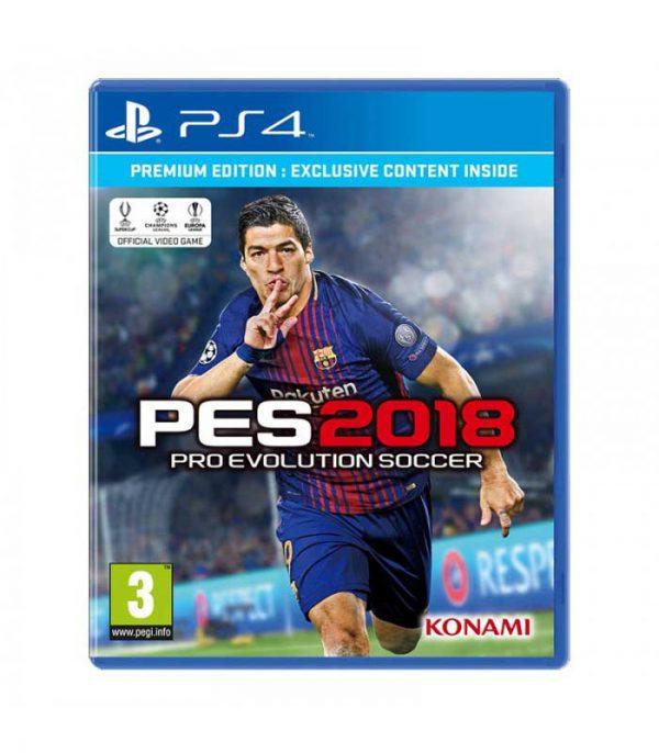 خرید بازی PES 2018 - پلی استیشن 4