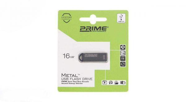 فلش مموری پرایم مدل Metal 16G